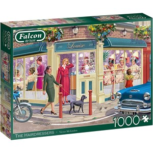 "Falcon (11323) - Victor McLindon: ""The Hairdresser"" - 1000 pieces puzzle"