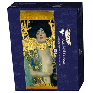 """Bluebird Puzzle (60014) - Gustav Klimt: """"Judith and the Head of Holofernes, 1901"""" - 1000 pieces puzzle"""
