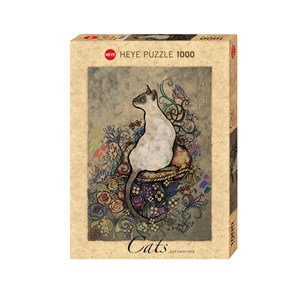 """Heye (29610) - Jane Crowther: """"Siamese"""" - 1000 pieces puzzle"""
