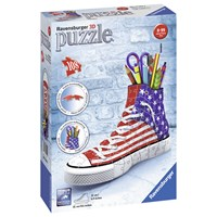 """Ravensburger (12549) - """"Sneaker American Style"""" - 108 pieces puzzle"""