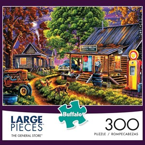 """Buffalo Games (2534) - Geno Peoples: """"The General Store"""" - 300 pieces puzzle"""