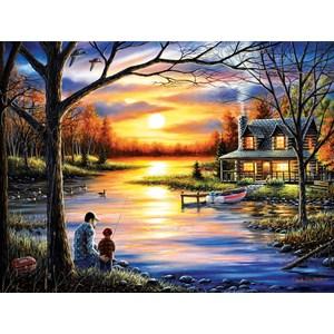 "SunsOut (55124) - Chuck Black: ""Father and Son"" - 1000 pieces puzzle"