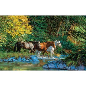 "SunsOut (44855) - Chris Cummings: ""Bear Creek Crossing"" - 1000 pieces puzzle"