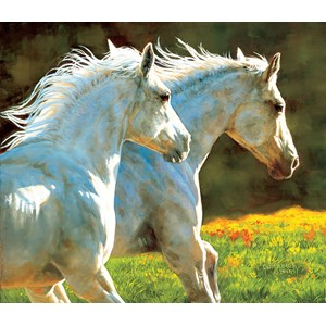 """SunsOut (44857) - Chris Cummings: """"The Chase"""" - 550 pieces puzzle"""