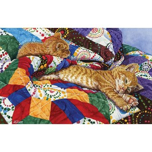 """SunsOut (52397) - Jeanette Fournier: """"The Easy Life"""" - 550 pieces puzzle"""