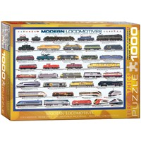 "Eurographics (6000-0091) - ""Modern Locomotives"" - 1000 pieces puzzle"