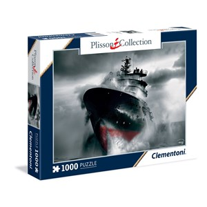 "Clementoni (39351) - Philip Plisson: ""Rescue at Sea - The Abeille Bourbon"" - 1000 pieces puzzle"