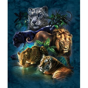 "SunsOut (52416) - Tami Alba: ""Big Cat Prowess"" - 1000 pieces puzzle"
