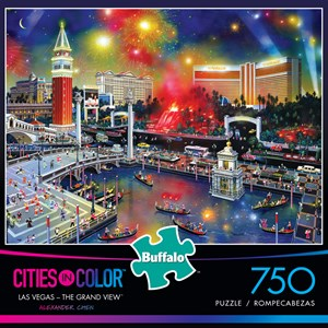 "Buffalo Games (17112) - Alexander Chen: ""Las Vegas - The Grand View"" - 750 pieces puzzle"