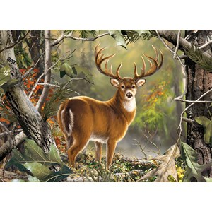 """MasterPieces (71751) - Dona Gelsinger: """"Backcountry Buck"""" - 1000 pieces puzzle"""