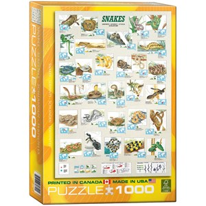 "Eurographics (6000-2610) - ""Snakes"" - 1000 pieces puzzle"