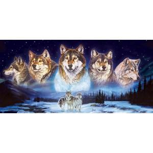 "SunsOut (34776) - Al Agnew: ""Wolves in the Snow"" - 1000 pieces puzzle"
