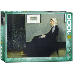 "Eurographics (6000-0749) - James Whistler: ""The Artist's Mother"" - 1000 pieces puzzle"