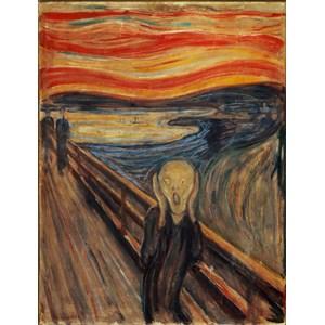 "Clementoni (39377) - Edvard Munch: ""The Scream"" - 1000 pieces puzzle"
