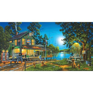 """SunsOut (51310) - Geno Peoples: """"Dixie Hollow General Store"""" - 1000 pieces puzzle"""