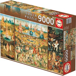 "Educa (14831) - Jerome Bosch: ""The Garden of Earthly Delights"" - 9000 pieces puzzle"