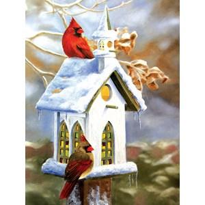 """SunsOut (54990) - Victoria Wilson-Schultz: """"The Church"""" - 500 pieces puzzle"""