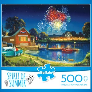 "Buffalo Games (3886) - George Kovach: ""Spirit of Summer (revised)"" - 500 pieces puzzle"