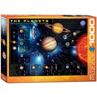 "Eurographics (6000-1009) - ""The Planets"" - 1000 pieces puzzle"