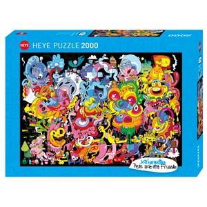 "Heye (29767) - Jon Burgerman: ""New Psychedoodlic"" - 2000 pieces puzzle"