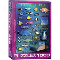 "Eurographics (6000-1170) - ""The Coral Reef"" - 1000 pieces puzzle"