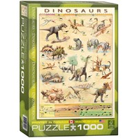 "Eurographics (6000-1005) - ""Dinosaurs"" - 1000 pieces puzzle"