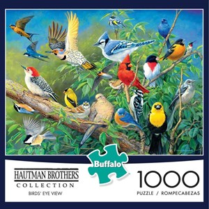 "Buffalo Games (11169) - James Hautman: ""Bird's Eye View"" - 1000 pieces puzzle"