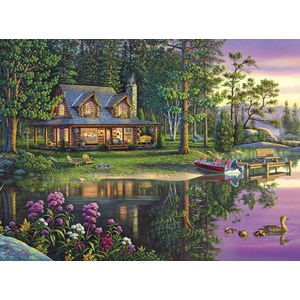"Buffalo Games (11601) - Kim Norlien: ""Golden Moments"" - 1000 pieces puzzle"