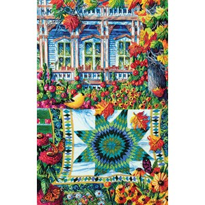"SunsOut (14683) - Diane Phalen: ""Athenaeum Autumn"" - 1000 pieces puzzle"