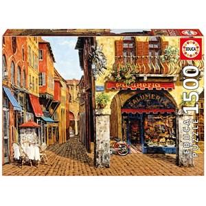 """Educa (16770) - Viktor Shvaiko: """"Colors Of Italy-Salumeria"""" - 1500 pieces puzzle"""