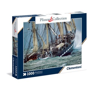 "Clementoni (39350) - Philip Plisson: ""Belem, The Last French Tall Ship"" - 1000 pieces puzzle"