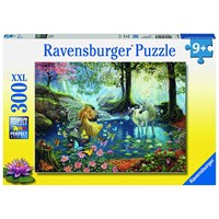 "Ravensburger (13206) - Ruth Sanderson: ""Mystical Meeting"" - 300 pieces puzzle"