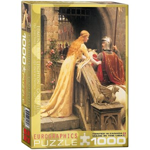 "Eurographics (6000-0130) - Edmund Blair Leighton: ""God Speed"" - 1000 pieces puzzle"