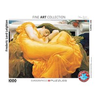 "Eurographics (6000-3214) - Frederic Leighton: ""Flaming June"" - 1000 pieces puzzle"