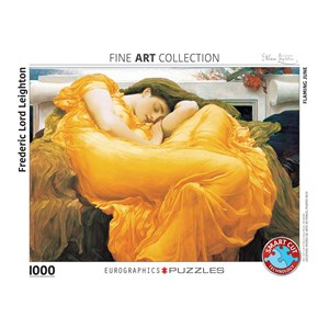 """Eurographics (6000-3214) - Frederic Leighton: """"Flaming June"""" - 1000 pieces puzzle"""