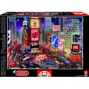 "Educa (16325) - ""Times Square, New York"" - 8000 pieces puzzle"