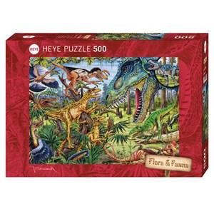 """Heye (29660) - M. Wieczorek: """"Carnivores"""" - 500 pieces puzzle"""