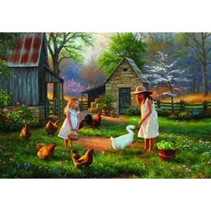 "Anatolian (PER3515) - ""Evening at Granma's"" - 500 pieces puzzle"