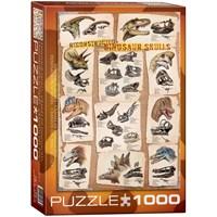 "Eurographics (6000-0096) - ""Reconstructed Dinosaur Skulls"" - 1000 pieces puzzle"