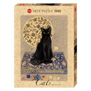 """Heye (29719) - Jane Crowther: """"Black Cat"""" - 1000 pieces puzzle"""