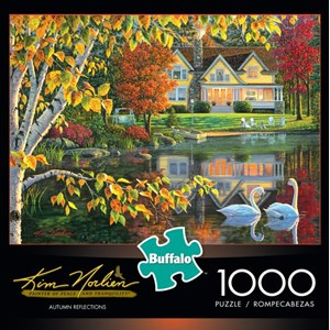 "Buffalo Games (11605) - Kim Norlien: ""Autumn Reflections"" - 1000 pieces puzzle"