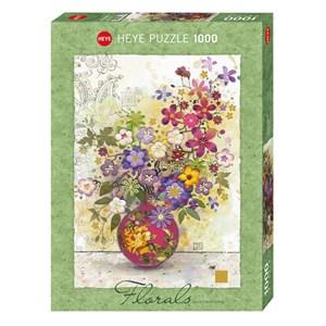 "Heye (29664) - Jane Crowther: ""Pink Vase"" - 1000 pieces puzzle"