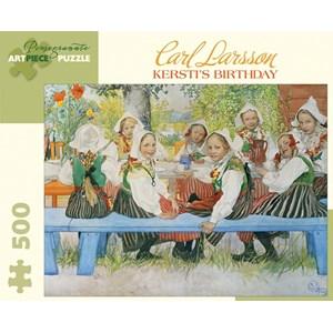 "Pomegranate (AA850) - Carl Larsson: ""Kersti's Birthday"" - 500 pieces puzzle"