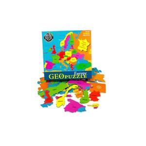 """Geo Toys (GEO 101) - """"Europe"""" - 58 pieces puzzle"""