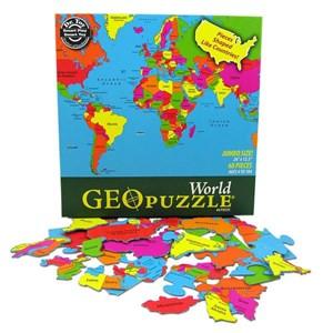 "Geo Toys (GEO 106) - ""World"" - 68 pieces puzzle"