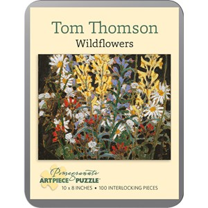 """Pomegranate (AA840) - Tom Thomson: """"Wildflowers"""" - 100 pieces puzzle"""