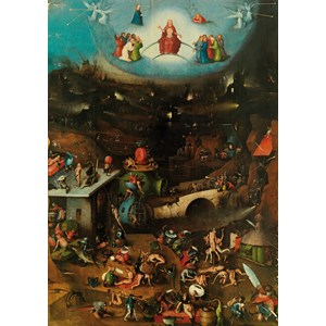"Piatnik (547447) - Hieronymus Bosch: ""The Last Judgement"" - 1000 pieces puzzle"