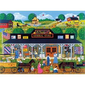 "SunsOut (61321) - Sheila Lee: ""McKenna's General Store"" - 1000 pieces puzzle"