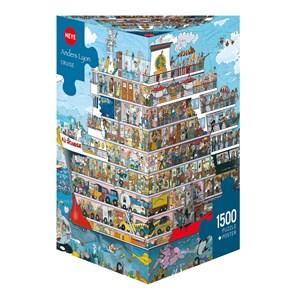 "Heye (29697) - Anders Lyon: ""Cruise"" - 1500 pieces puzzle"