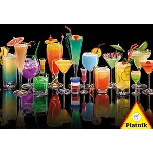 """Piatnik (535642) - Royce B. McClure: """"Cocktails"""" - 1000 pieces puzzle"""